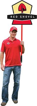 Kenny Grebe Red Shovel