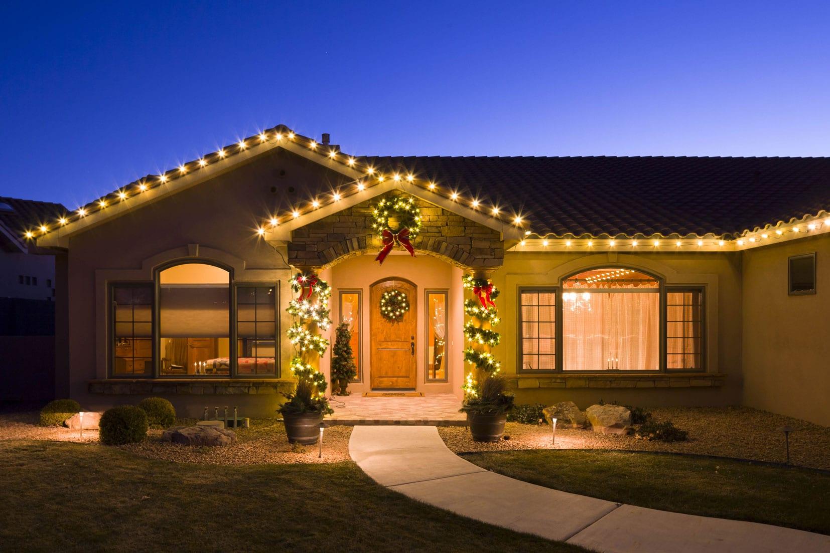 Christmas Light Hanging Service Albuquerque NM