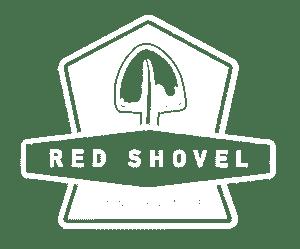 Red Shovel Landscaping Albuquerque Logo